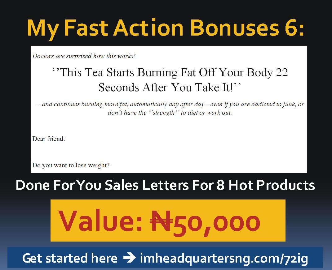72 hour income generator