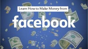 earn money from facebook account