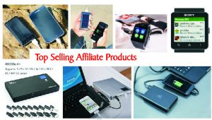 fast selling affiliate products