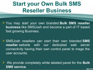 bulk sms reseller website