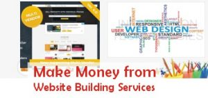 make money online from our website building services