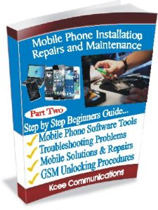 Repairing ebook phone mobile