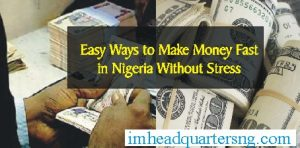 easy ways to make money in nigeri