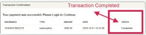 nnu income transaction completed