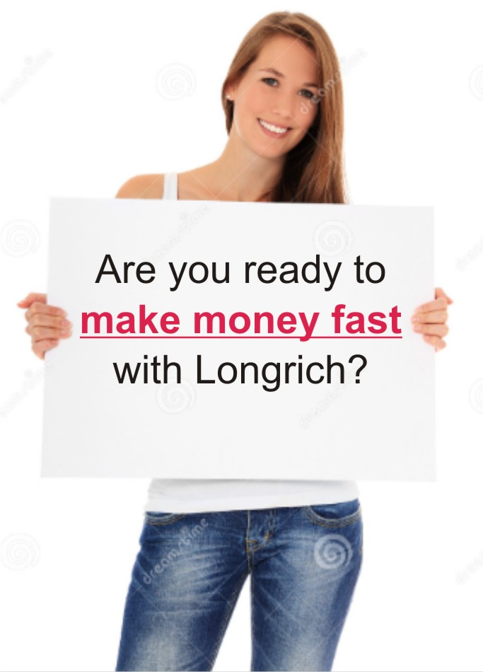 how to make money with longrich products fast