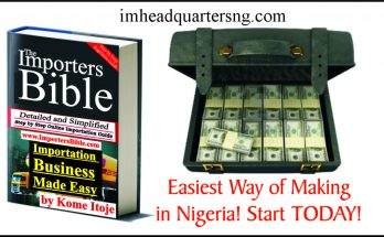 easiest way of making money in nigeria
