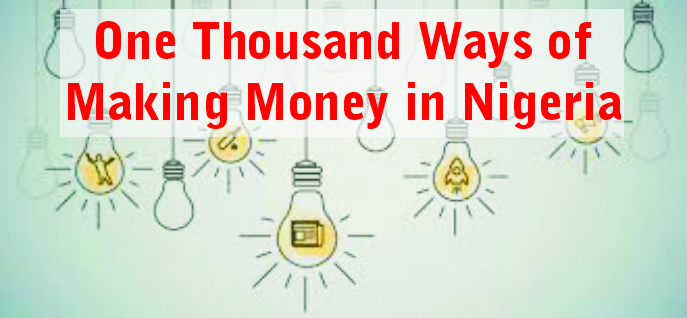 one thousand ways of making money in nigeria