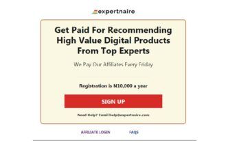 expertnaire affiliate system